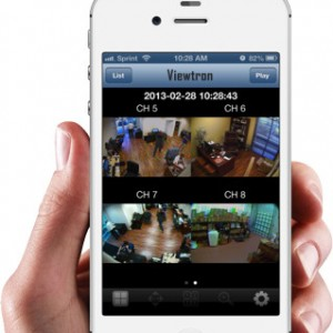 IPCCTV viewer app iPhone - PARANET.UK