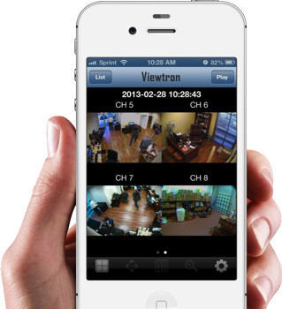 IPCCTV viewer app iPhone - PARANET.UK
